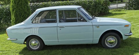 POPULÆR BIL: I 1966 ble Toyota Corolla introdusert med slagordet «den mest ettertraktede bil på markedet – presentert for verden ved å sammenfatte Toyotas teknologi». Allerede i 1997 passerte Corolla den legendariske Bobla i antall solgte biler.FOTO: DAG SKOGLUND