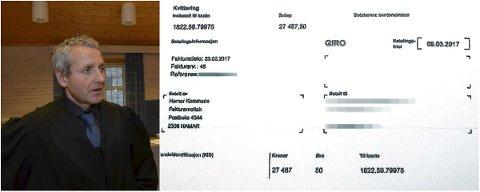 OMFATTENDE TILTALE: Politiadvokat Richard Røed er aktor i saken mot eks-politikeren, som er tiltalt for rundt 150 tilfeller av grovt bedrageri mot kommuner og privatpersoner.