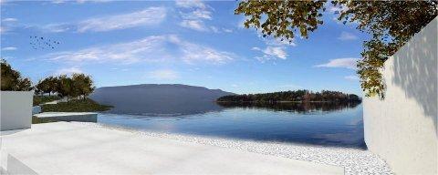 IKKE FOR TURISTER: Minnestedet ved Utøya-kaia skal ikke tilrettelegges som en turistattraksjon.