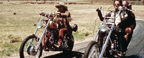 LEGENDARISK: Filmklubben viser Easy Rider i Artilleriverkstedet i februar.