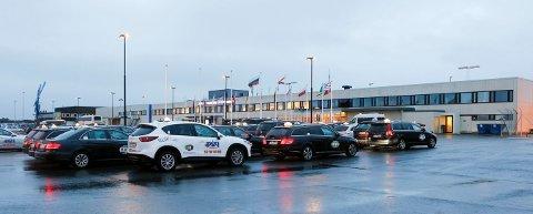 Haugesund Lufthavn Karmøy på Helganes. Foto: Alfred Aase