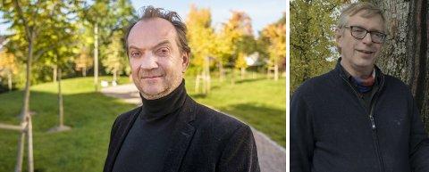 PÅ SØKERLISTA: Både Gard B. Eidsvold og Øivind Roos er på lista over søkere til ny teatersjefstilling i Innlandet. Foto: Ole Gunnar Onsøien, NTB scanpix / Marianne L. Østmoen