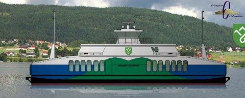 NYE KAIER: Entreprenør til de nye fergekaiene ved Tangen og Horn er valgt.