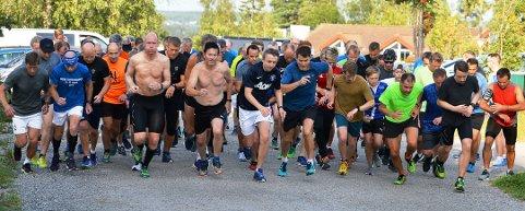 REKORD: Det ligger an til å bli deltakerrekord i Torsdagsløpet for hele året i 2019.