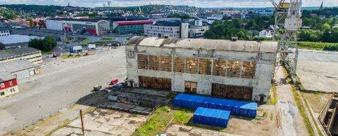 Nå planlegges det en kino i Sveisehall 1 på Værste som blir større ennbyens kommunale kino.