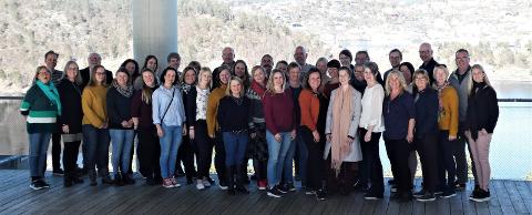 Deltakere på FOs skolekonferanse 2019