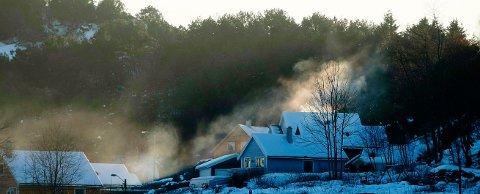 KJØLIGE DAGER: Sist det var en februar med skikkelig kulde på Haugalandet, ble det satt flere kulderekorder for måneden. Her fra Skåredalen
