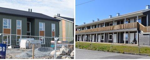 LEIE FØR EIE: Leie før eie koster 8000 kroner  i måneden for 68 kvadratmeter i Gjøvik (t.v.) og 9500 kroner for  37 kvadratmeter på Lena.