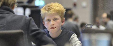 Nicholas Sunde var eneste av de 380 deltakerne i helgens NM som klarte å vinne alle sine partier.