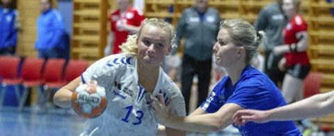 Emma Haugstvedt ble toppscorer for Gneist mot Follo, men det var ikke nok til å forhindre nedrykk.