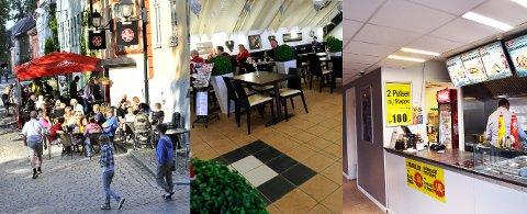 ALT I ORDEN: Både Peppes Pizza i Gamlebyen, Cafe Mesanin i Østfoldhallen og Elias Pizza på Rolvsøy fikk utdelt blide smilefjes av Mattilsynets kontrollører i forrige uke.