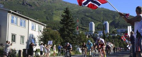 Telenor oppgraderte mobilnettet i Ofoten på grunn av Arcitc Race of Norway. Foto: Fritz Hansen
