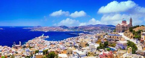 GRESKE ØYER: Nexans i Halden skal lage en sjøkabel som skal sikre pålitelig og tilstrekkelig tilførsel av elektrisitet til de greske øyene Syros, Paros, Tinos, Mykonos og Naxos i mange år framover.