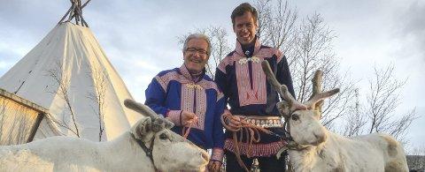 STORTRIVDES I FINNMARK: Davy Wathne og Jesper Mathisen Foto: Presse/TV 2