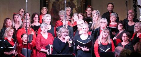 Julekveldsvisa med Inger Wedvik som solist