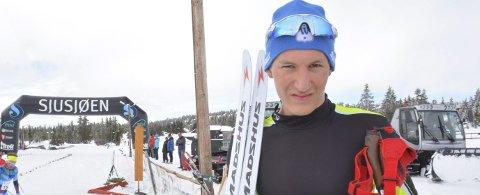 God: Håvard Hovde fra Mjøsski viser at han kommer til å være høyt oppe på resultatlistene i vinter. foto: Arkiv
