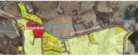 ENDELIG: Statens vegvesen starter prosessen med å bygge gang- og sykkelveg forbi Kylstad skole.