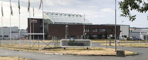 Nortura UTVIDER: Ringsaker kommune har nylig sagt ja til oppføring av to lagerhaller inne på industriområdet på Rudshøgda. Foto: Jan Rune Bakkelund