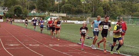 Bra Løp: Veldremila er ei bra treningsøkt i god konkurranse mot seg selv eller med andre.foto: Ove Andreassen