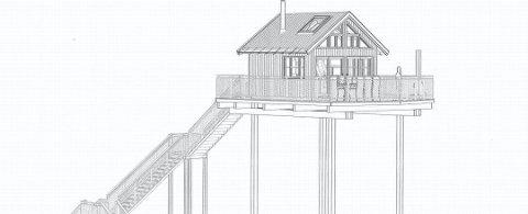 FIKK DISPENSASJON: Etter flere runder får Westvang bygge hytter på inntil 14,5 meter i høyde.