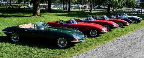 60 ÅR: I 1961 ble Jaguar E-type. Bilen ble produsert fram til 1974.