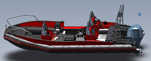 Beredskapsbåten ser slik ut. Målet er at den skal være operativ i juli.