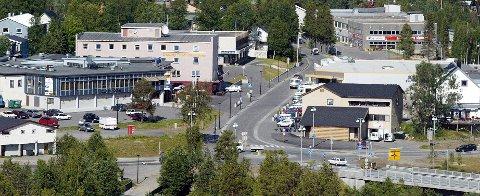 SENTRUM: Bardufoss blir sentrum for den nye byen.