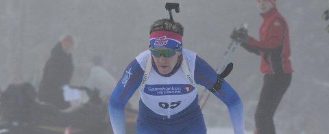 Nesten for Sørum: Hans Kristian Sørum åpnet bra, men ble til slutt nummer 18 etter to bom under junior-NM i Simostranda fredag.