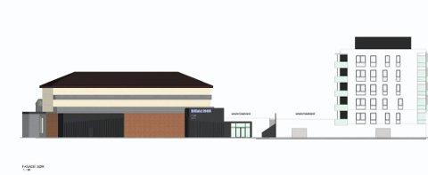 Plan for utvidelsen: denne illustrasjonen følger med i dokumentene utbygger har sendt til kommunen. Tegning: Plan 1