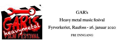 Gar's music film festival