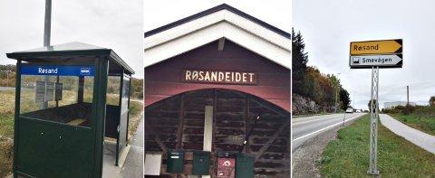 Dette er noen av eksemplene som trekkes fram for å vise at innbyggerne er kjent med Røsand-navnet framfor Raudsand.