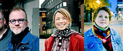 SØKERE: Frank A. Tostrup, Marianne Eide og Anne Bakken - alle kjente navn i Horten - står på søkelista til kulturstillingen.