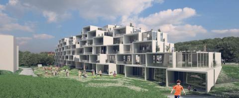 100: I Parkveien 3-5 planlegger Bane Nor Eiendom å bygge to nye  leilighetsbygg med cirka 100 leiligheter.