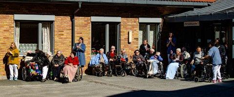 MÅ HØRES BEDRE: Ås Høyre mener beboere på institusjoner som Moer sykehjem og deres pårørende bør ha større medvirkning på omsorgst