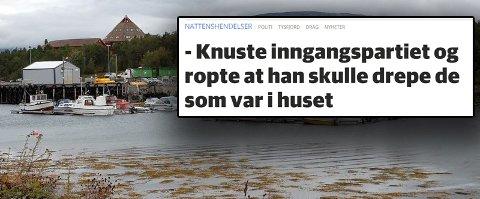 Drag i Tysfjord. Illustrasjonsfoto: Øyvind A. Olsen