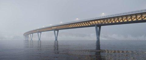 LAGT PÅ IS: Byggingen av E6-strekningen Mjøsbrua-Roterud må ut på anbud på ny.
