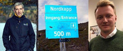 Lasse Heimdal i Norsk Friluftsliv stiller spørsmålstegn ved bommen på Nordkapp. Håkon Knudsen i Scandic Nordkapp mener Norsk Friluftsliv sitter med feil opplysninger.