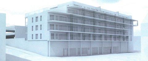 Det var bråk rundt byggehøyden da detaljreguleringsplanen var til behandling våren 2015. Det ble imidlertid maksimal utnyttelse av byggehøyden som er tillatt i områdereguleringen. Dermed blir det bygget i fem etasjer. Dette gir muligheten for å bygge ikke mindre enn 31 nye leiligheter.
