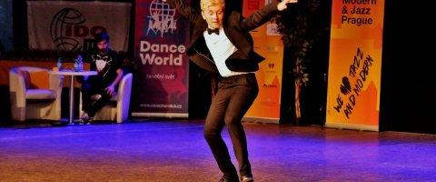 KLAR FOR VM: Jan Anders Presthus i aksjon under EM i sommer. Foto: Norges Danseforbund