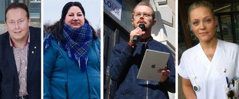 HAR SNUDD: Ap-politikerne Jarle Heitmann, Tone Marie Myklevoll, Viljar Hansen og Tonje Tunstad har alle snudd i Arctic Center-saken.
