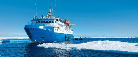 ISGÅENDE: MS Sea Endurance er isgående, og brukes i dag på Svalbard. Nå skal hun til kysten av Nord-Norge.