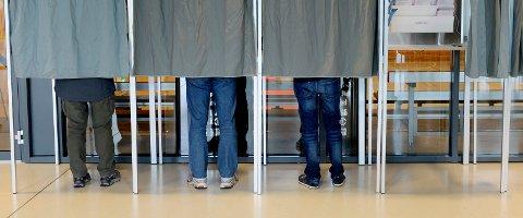 Mange benyttet muligheten til å gi personstemmer og slengere i årets valg.