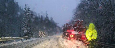 I morgentimene torsdag oppsto det et trafikkuhell på fylkesvei 120 mellom Skedsmokorset og Ask.