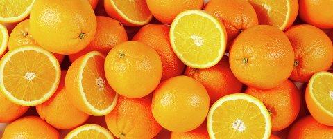 DUMPER PRISENE: Nå er det appelsinen som får gjennomgå.