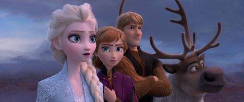 TILBAKE: Elsa, Anna og Kristoffer er tilbake på kinolerretet 1. juledag. Kinosjef Jørgen Søderberg Jansen tror Frost 2 kommer til å bli årets storfilm i romjula.