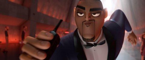"""John Carew gir stemme til den hemmelige agenten Lance Sterling i filmen """"Spion i aksjon""""."""