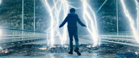 TORDEN PÅ KINO: Nat Wolff som norsk-amerikaneren Eric i «Torden». Filmen har premiere denne uken.