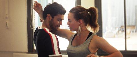 BATTLE: Dansefilmen med Fabian Svegaard Tapia og Lisa Teige i hovedrollene. Filmen vises aller først i Kongsvinger.