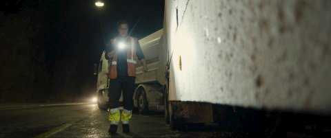 TUNNELEN:  Sigurd Sele spiller i katastrofefilmen «Tunnelen» som har premiere 1. juledag.