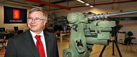 BETYDELIG: Egil Haugsdal i Kongsberg Maritime kaller verdien av kontrakten betydelig. FOTO: Ståle Weseth